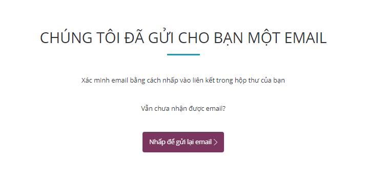 Email xác nhận đăng ký